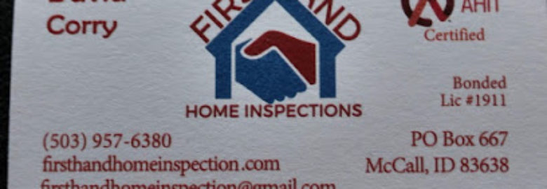 First Hand Home Inspections